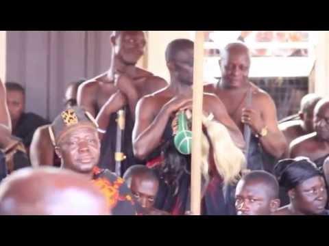THE ENSTOOLMENT CEREMONY OF NANA APAU WIAFE ABABIO SANWANSA