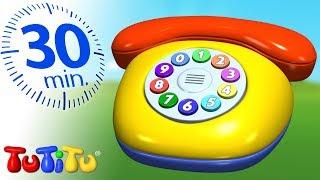 Jouets pour enfants en bas âge | Téléphone | 30 minutes spécial | TuTiTu En Francais