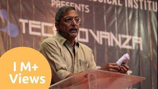Padma Shri Nana Patekar at VJTI Technovanza Official Video