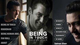 Salman Khan Launches 'Being In Touch' App On 51st Birthday Special