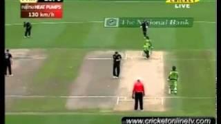 Pakistan vs New Zealand 5th ODI Highlights Hamilton 2011 part 1 HD