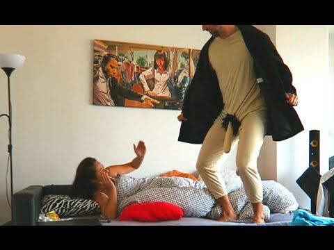 To prank vibrator wakes girl up