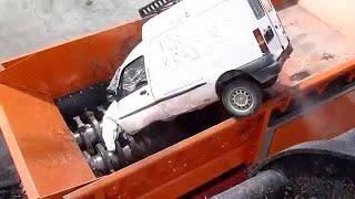 اعادة تدوير السيارات استعراض كامل للعملية التي تولد فيها التكنولوجيا من جديد