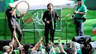 Fared Shafinury, Yare Dabestaniye Man, July 25, 2009 NYC Performance