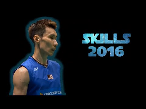 Lee CHONG Wei ● SKILLS ● 2016 Badminton Male Player of the Year