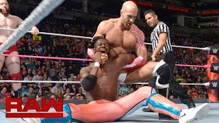 The New Day vs. Cesaro & Sheamus: Raw, Oct. 24, 2016