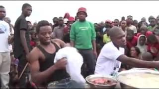 Eating Competition Part2 Mwine Wanshima Vs Joseph Mwanza