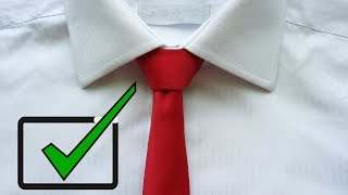 How to Tie a Tie easy way for BEGINNERS (2018)