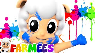Color Song | Kindergarten Nursery Rhymes Collection For Children | Baby Song For Kids by Farmees