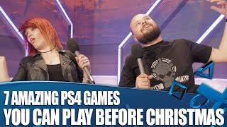 7 Amazing PS4 Games You Can Play Before Christmas