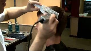 James Bond 007 / Daniel Craig / Skyfall haircut how to by Ivan Zoot clipperguy
