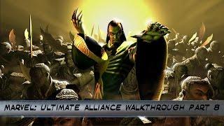 Marvel: Ultimate Alliance PS4 Walkthrough Part  8