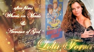 Lola Forner after 2 films whit Jackie Chan