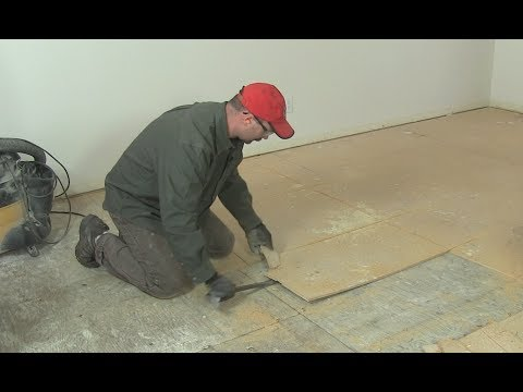 How to remove ceramic tile flooring