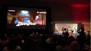 PAX East 2013 - First Reaction To The Reveal Of Ducktales Remastered, Live At The Capcom Panel