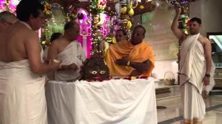 Abhisekh - Govardhan Puja at ISKCON of Houston