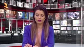Presenter berita rela tidak pakai BH dan melihatkan panyudaranya demi reting