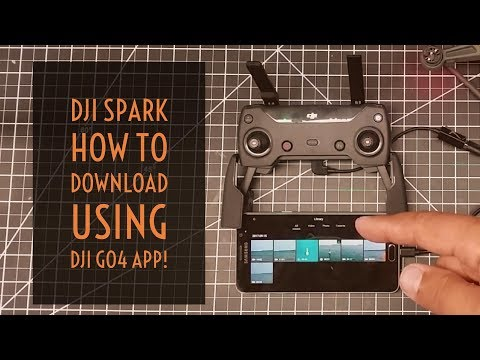Xxx Mp4 Video Drone DJI Spark How To Download From SD Card Using DJI Go4 App 3gp Sex