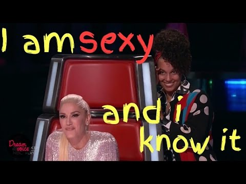 Sexy Songs. Hot Guys and Sexual Healing (The Voice Blind Auditions)