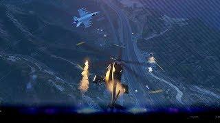 Vijandelijke straaljager achtervolgd ons! - Smuggler's RUN DLC - Noway & KillaJ (GTA 5 Online)