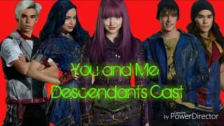 You and Me Lyrics-Descendants 2 cast