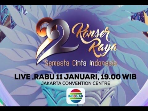 Jangan Lewatkan Konser Raya 22 Tahun Indosiar