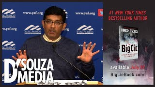 Dinesh D'Souza absolutely DESTROYS leftist anti-speech thuggery
