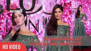 Gorgeous Katrina Kaif At Lux Golden Rose Awards 2016 | Viralbollywood