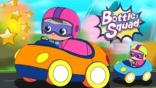 Off To The Races | Bottle Squad Cartoon Videos | Kids Stories | Super Hero Babies | Kids Shows