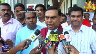 President maithripala not against - against the work of the government - Basil
