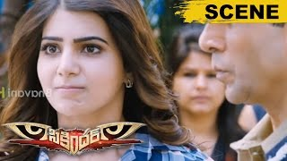 Samantha Uses Surya Name To Stop Her Marriage Looks - Comedy Scene - Sikandar Movie Scenes