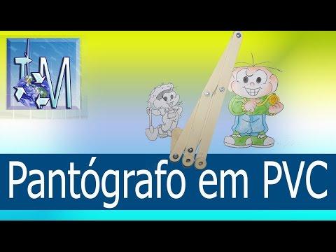 Pantógrafo em PVC