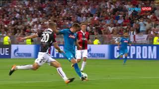 Nice 0-2 Napoli   UEFA Şampiyonlar Ligi Play-Off Turu Maç Özeti