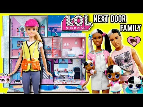 Xxx Mp4 Barbie Helps LOL Family Move To New LOL Surprise Dollhouse With Pool 3gp Sex