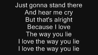 Eminem ft  Rihanna   Love the Way You Lie song + lyrics   YouTube360p