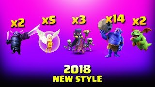 5 Healer+BoWitch+2 Pekka= Awesome Attacks | Top 3 Star Attack | TH11 War Strategy #164 | COC 2018 |