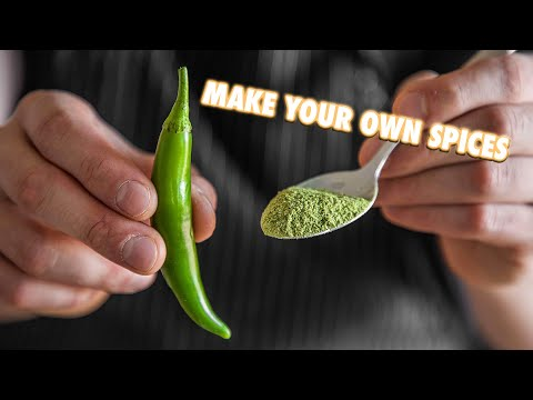Making Your Own Spices From Scratch