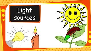 Science - Sources  of Light - Basic - English