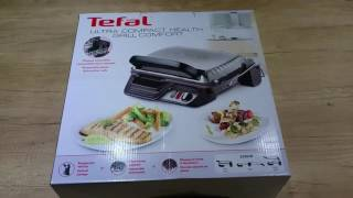 Tefal Kontaktgrill GC3060 ultra compact grill comfort 3 in 1 2000W unboxing