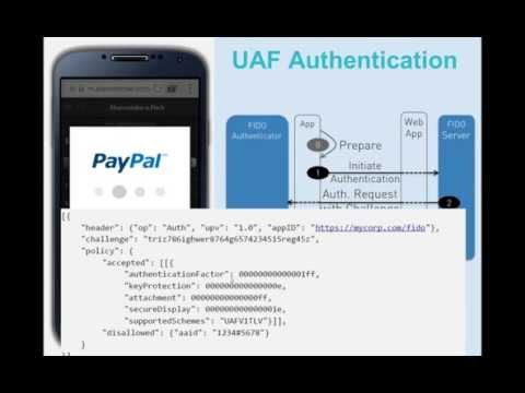 FIDO Alliance Webinar - Universal Authentication Factor (UAF)