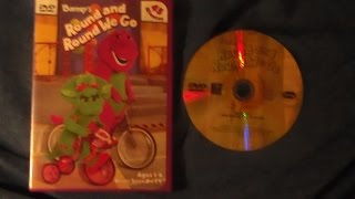 Opening and Closing to Barney's Round and Round We Go 2002 DVD