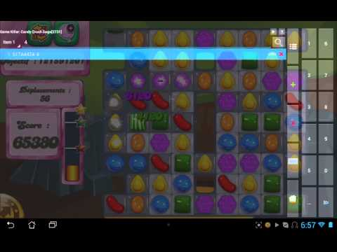 Gam killer : candy crush saga hack Android (Root )