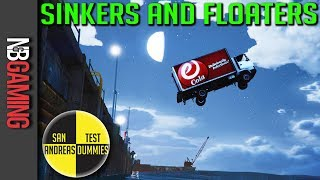 GTA 5  - Sinkers & Floaters - San Andreas Test Dummies Ep. 83 - GTA5 Funny Moments