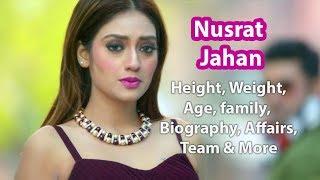 Nusrat Jahan Height, Weight, Age, Affairs, Wiki & Facts