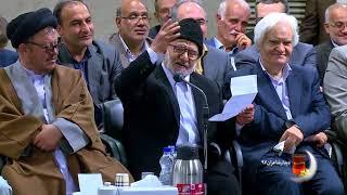 فیلم کامل شعرخوانی حسین کریمی مراغهای | دیدار جمعی از شاعران با آیت الله خامنه ای | ۱۳۹۷/۰۳/۰۹