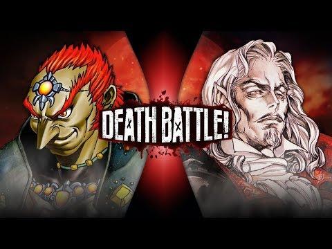Ganondorf VS Dracula Zelda VS Castlevania DEATH BATTLE