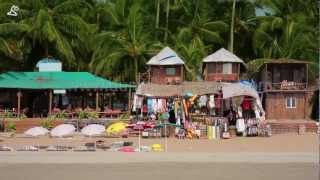 Goa, India, beaches and local lifestyle stock footages