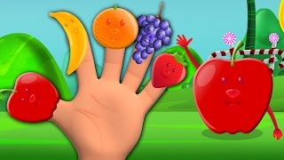 Fruit Finger Family | The Fruits Song | Nursery Rhymes | Kids Songs | Baby Rhymes
