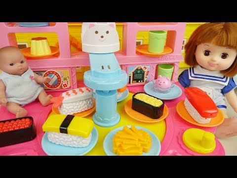 Xxx Mp4 Baby Doll Sea Food Play And Play Doh Food Shop Cooking Play Baby Doli 3gp Sex