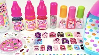Видео для детей, распаковываем детский игровой набор для маникюра  Детский канал Игрушкин ТВ